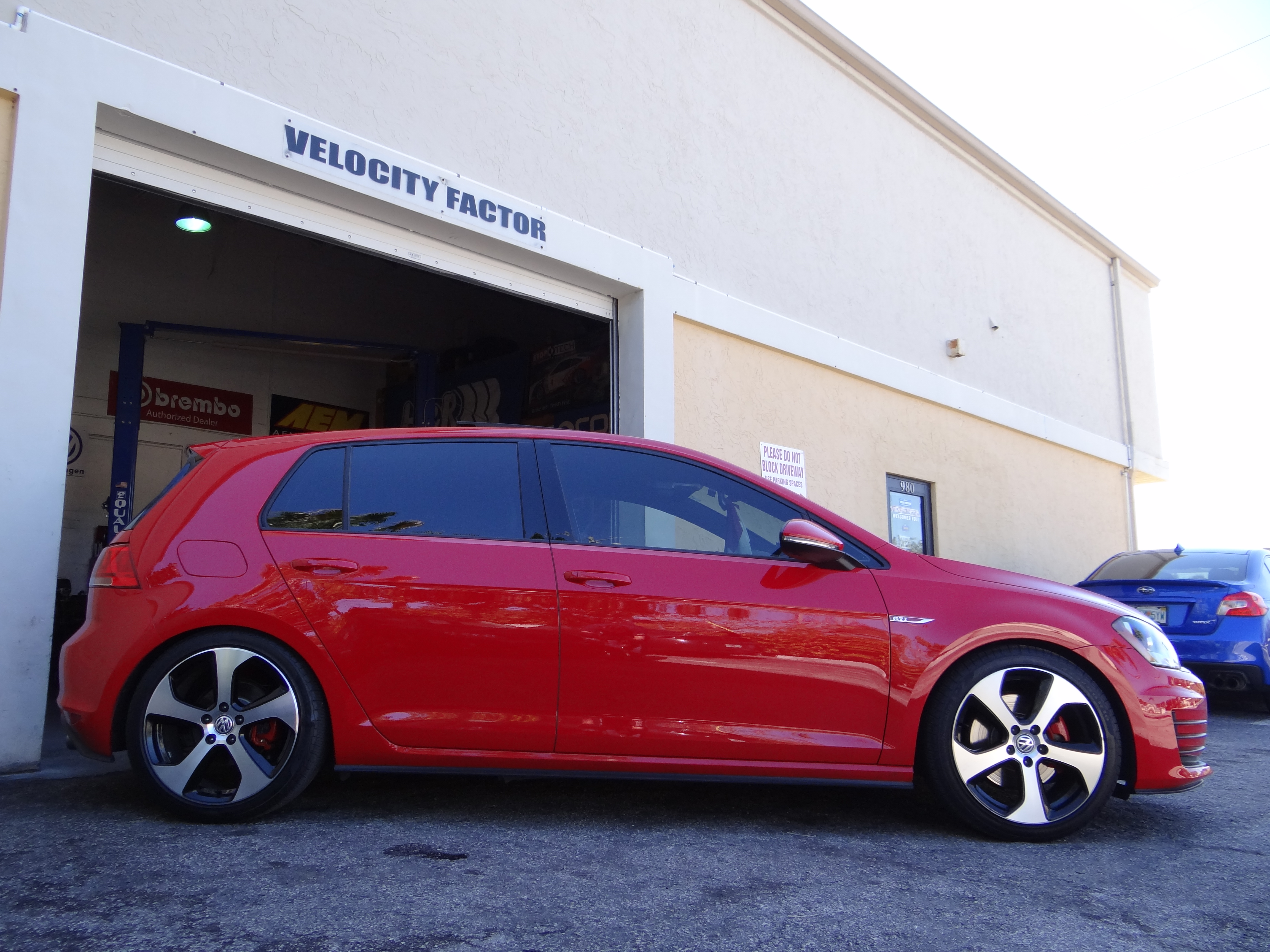 2015 GTI MK7 with H&R Sport Springs - VFR auto blog