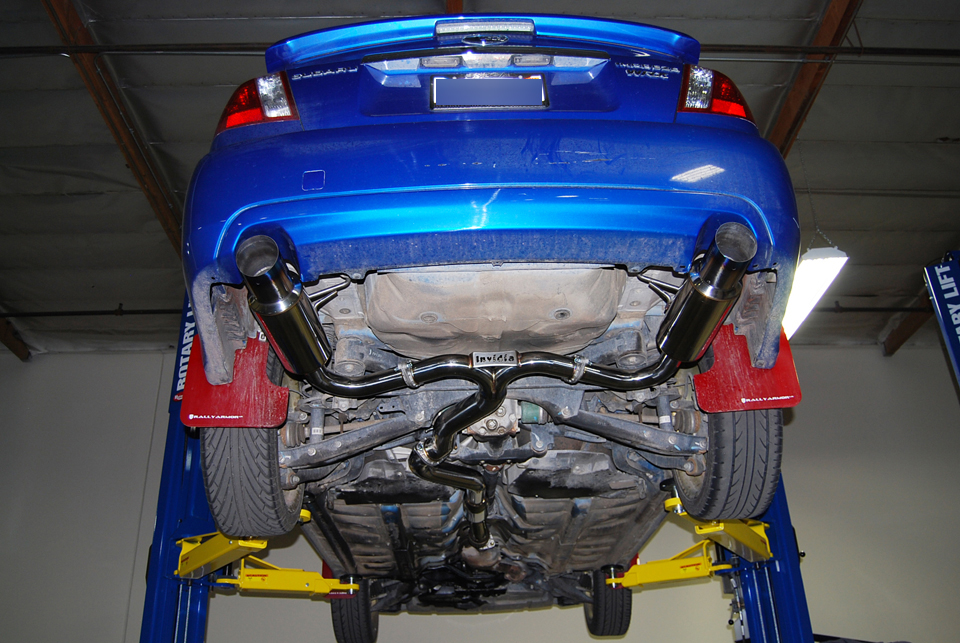 Wrx Straight Pipe Cat Back