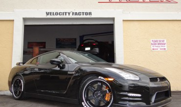 Nissan GT-R Black Edition gets some new shoes…