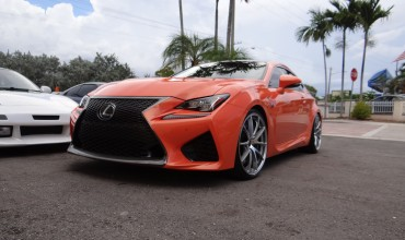 Lexus RC-F in for RAYS G25 Edge & RS-R Springs