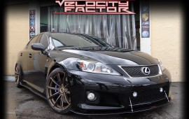 Lexus IS-F Back For Some Nitrous!