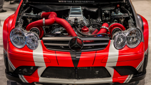 Weistec 2000HP CLK63 Drag Car