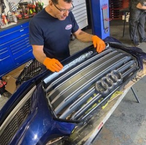 Audi S5 Grille Installation